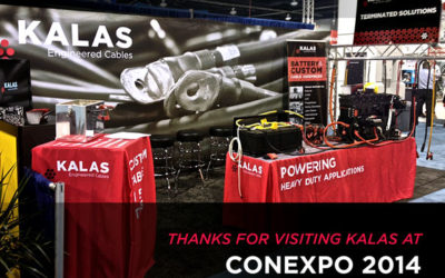 Kalas At CONEXPO 2014
