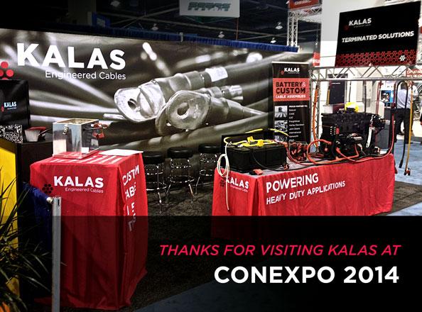 Kalas At CONEXPO 2014