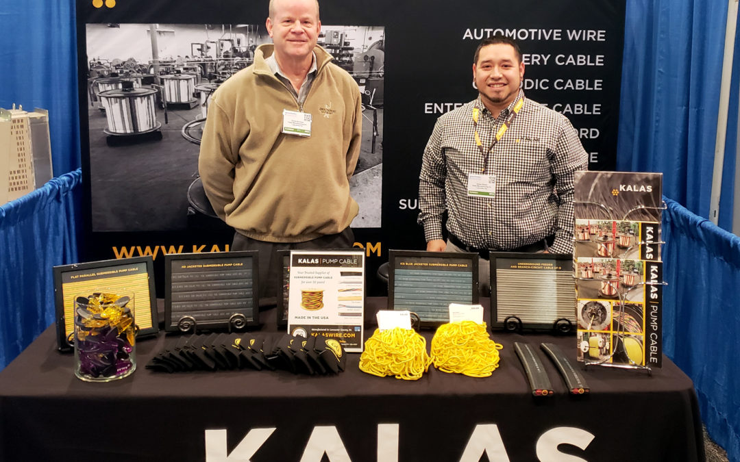Kalas Exhibits at NGWA Groundwater Week 2018