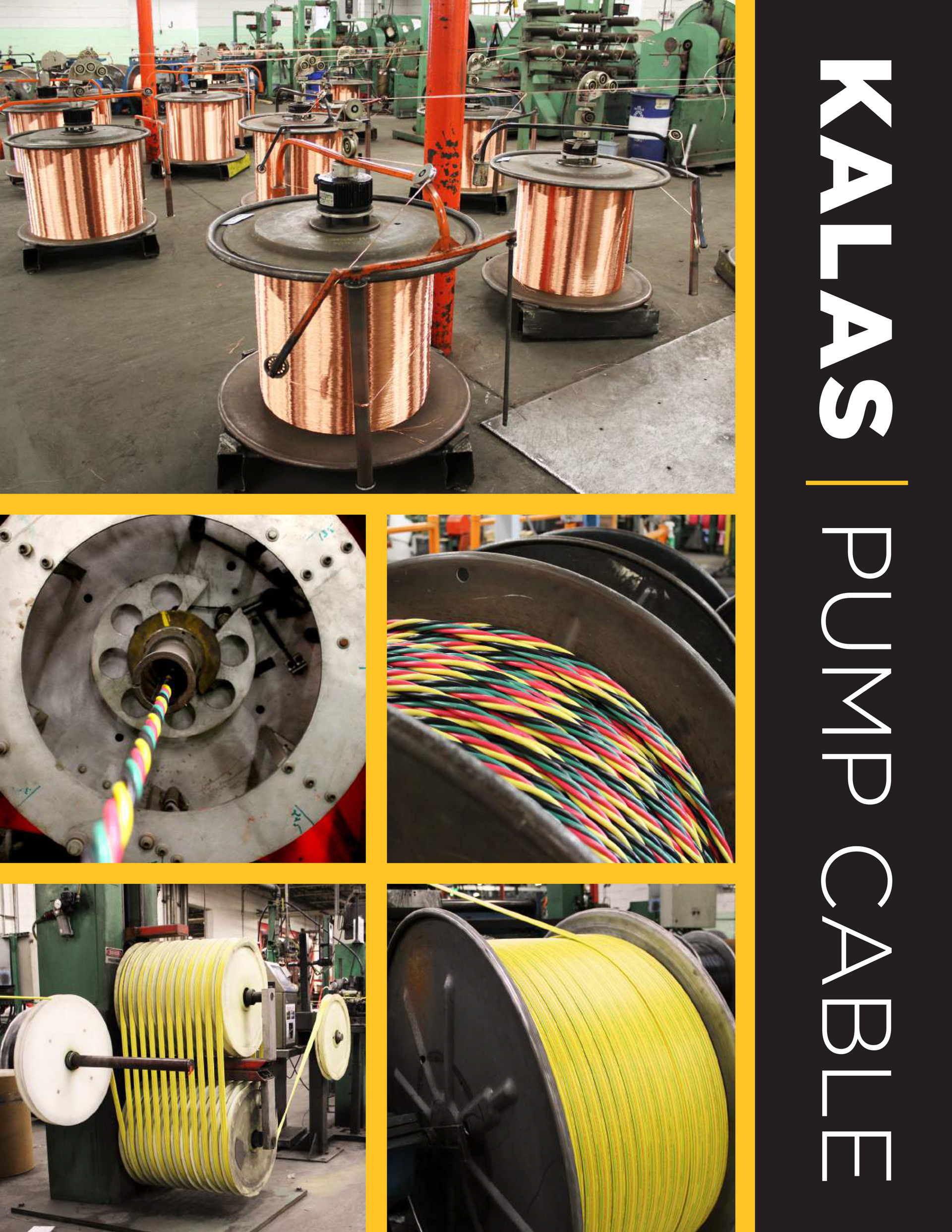 Submersible Pump Cable Kalas Wire