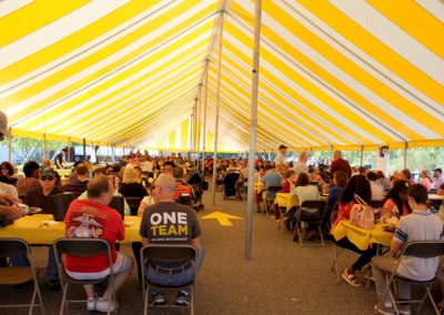 Tent Full PC Heisey Productions