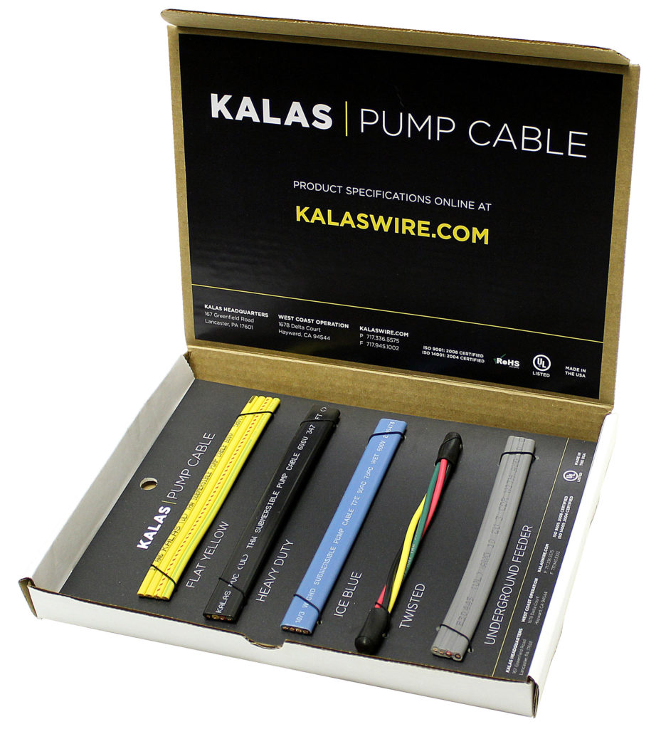 Kalas Pump Cable Box